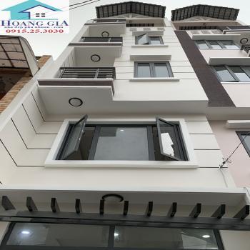 Nhà kiểu Vila Phố mới xây 100%,  4 Lầu, Hẻm xe 7 chỗ Nguyễn Thượng Hiền P5 Quận Bình Thạnh
